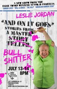 Leslie Jordan Show Poster